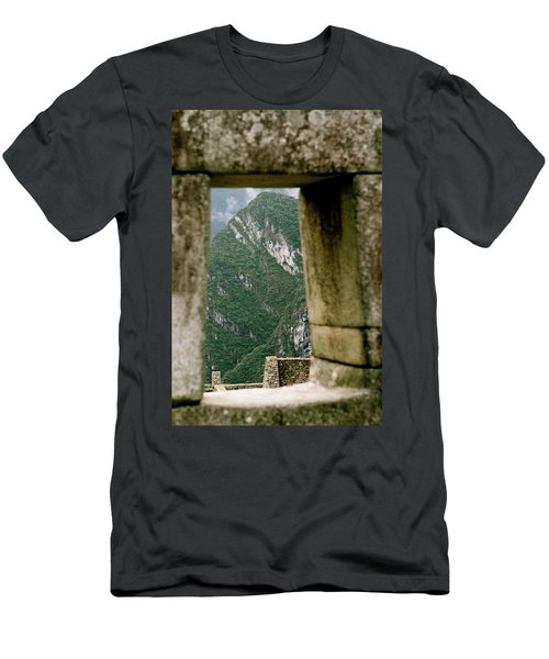 Window To The Gifts Of The Pachamama Men's T-Shirt (Athletic Fit)