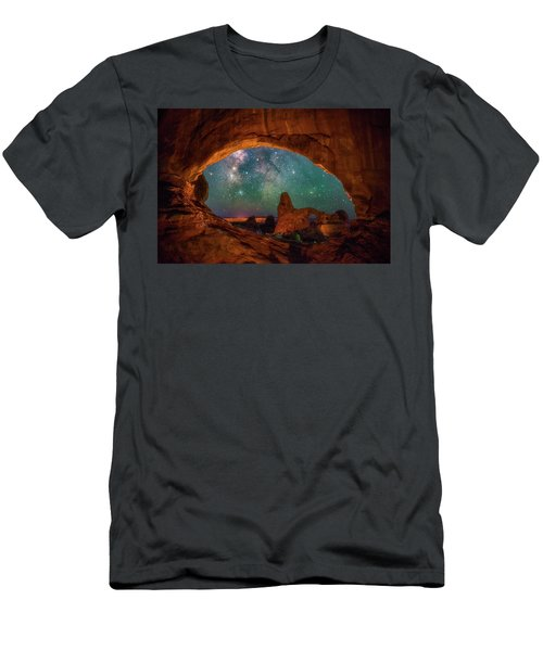 Window To The Heavens Men's T-Shirt (Athletic Fit)