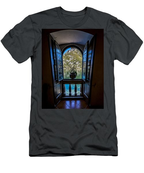 Window To The Lake Men's T-Shirt (Athletic Fit)