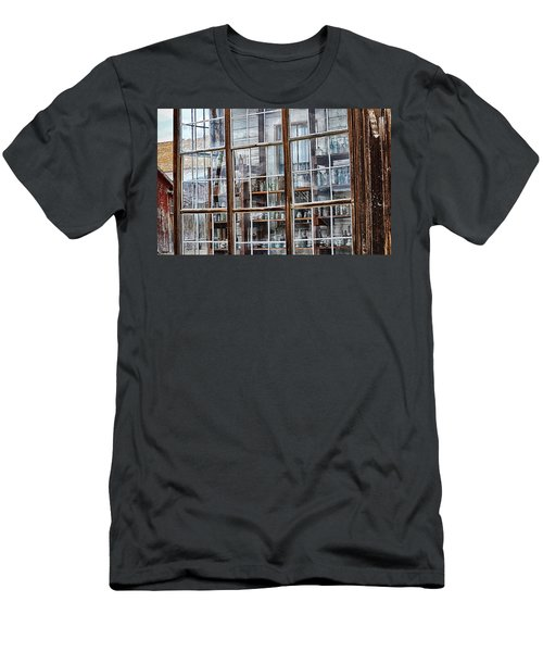 Window To The Past Men's T-Shirt (Slim Fit) by AJ Schibig