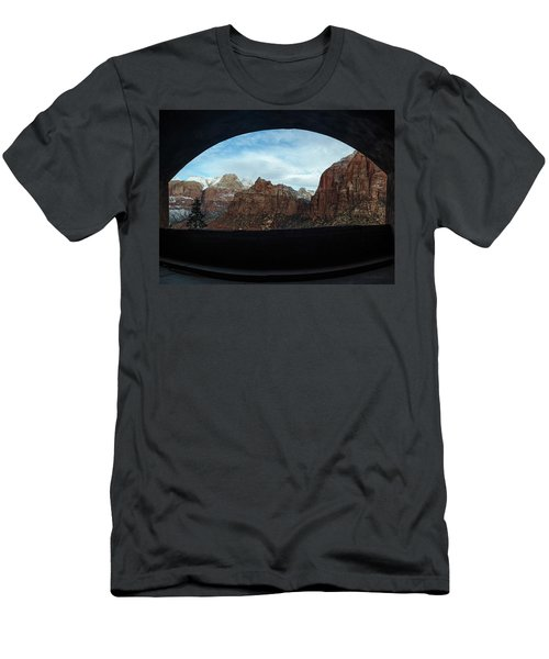 Window To Zion Men's T-Shirt (Slim Fit)