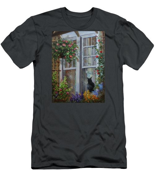 Window Watcher Men's T-Shirt (Athletic Fit)