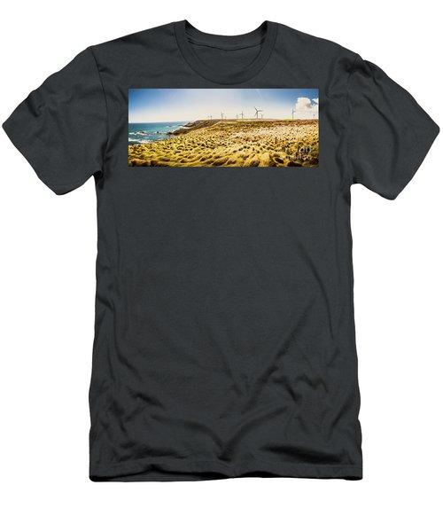 Windswept Tasmania Men's T-Shirt (Athletic Fit)