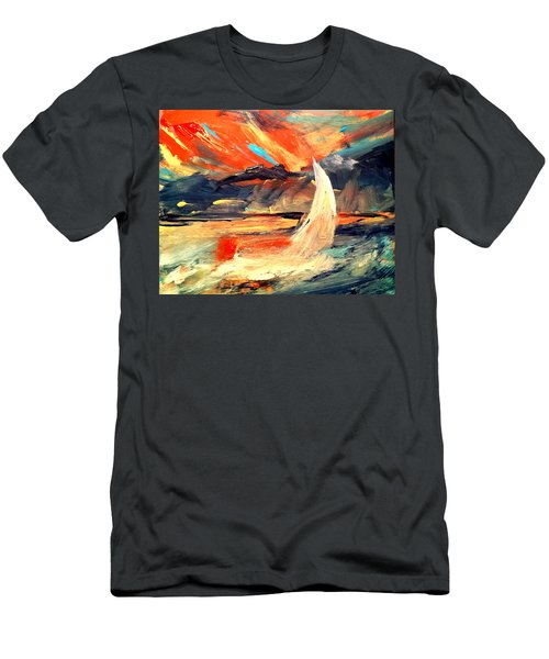 Windy Sail Men's T-Shirt (Athletic Fit)