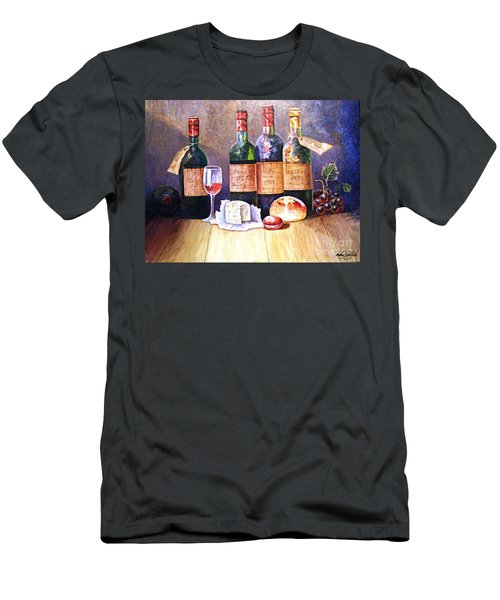 Wine And Cheese Men's T-Shirt (Athletic Fit)