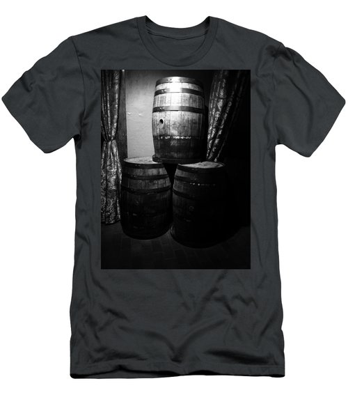 Wine Barrels Men's T-Shirt (Athletic Fit)
