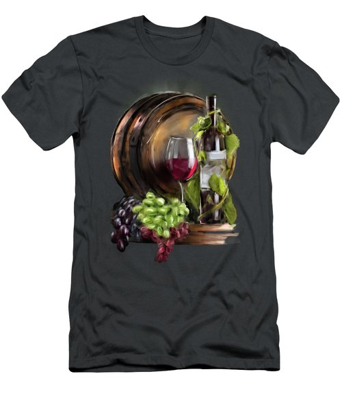 Wine Cellar Men's T-Shirt (Athletic Fit)