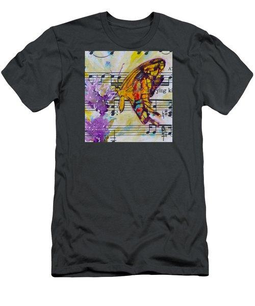 Wings II Men's T-Shirt (Slim Fit) by Beverley Harper Tinsley