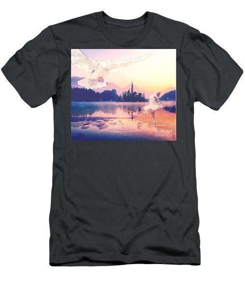 Wings Of Grace Men's T-Shirt (Athletic Fit)