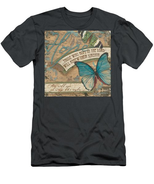 Wings Of Hope Men's T-Shirt (Athletic Fit)