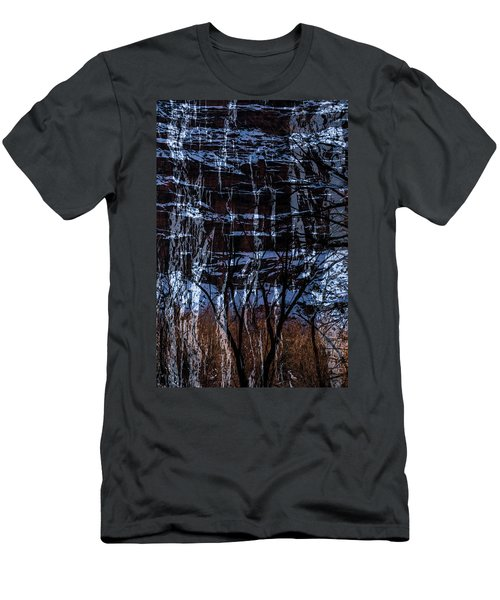 Winter Abstract Men's T-Shirt (Athletic Fit)