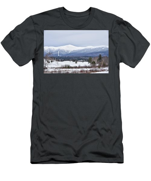 Winter At Mount Washington Men's T-Shirt (Athletic Fit)