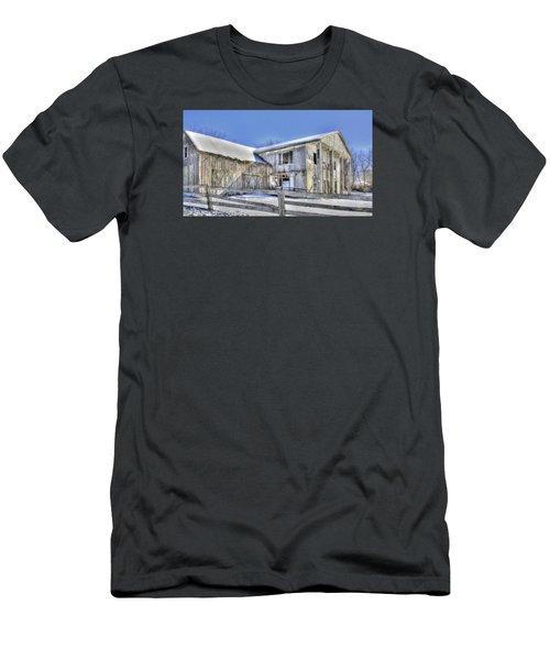 Winter Barn 2 Men's T-Shirt (Athletic Fit)