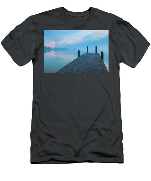 Men's T-Shirt (Athletic Fit) featuring the photograph Winter Blues by Davor Zerjav