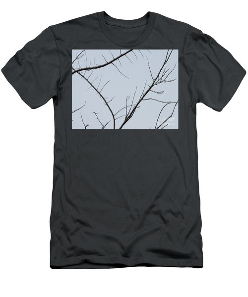Winter Branches Men's T-Shirt (Slim Fit) by Craig Walters