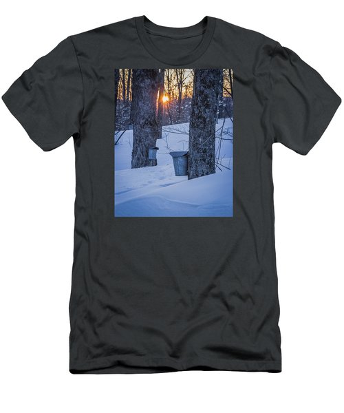 Winter Buckets Men's T-Shirt (Athletic Fit)