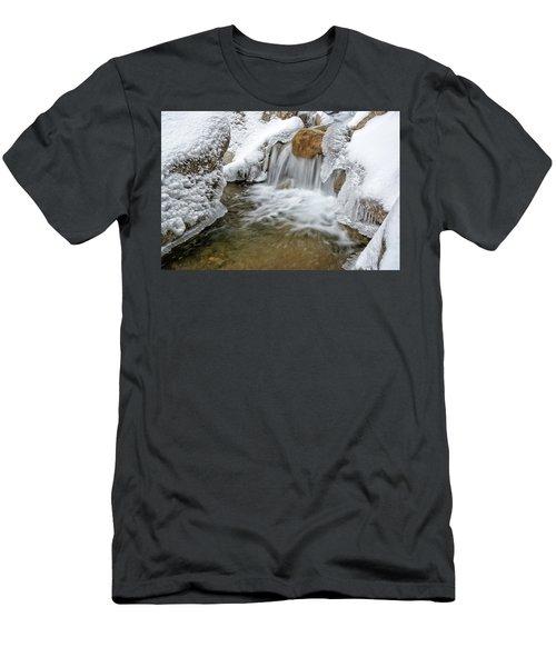 Winter Cascade Nh Men's T-Shirt (Athletic Fit)
