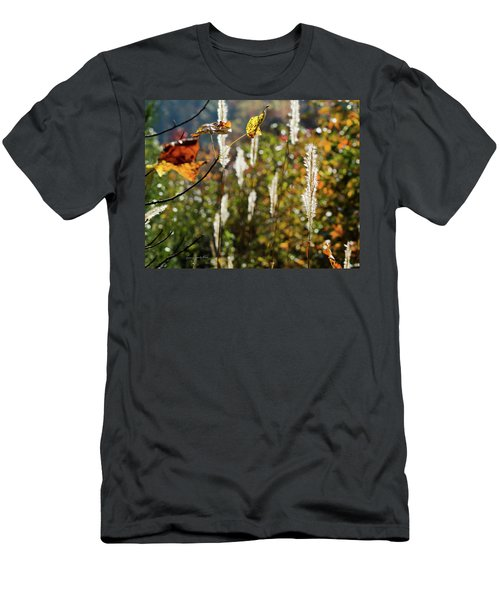 Men's T-Shirt (Slim Fit) featuring the photograph Winter Color by George Randy Bass