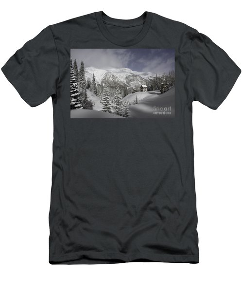 Winter Comes Softly Men's T-Shirt (Athletic Fit)