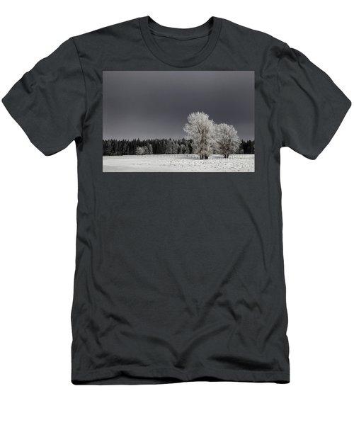 Winter Dreamscape Men's T-Shirt (Athletic Fit)