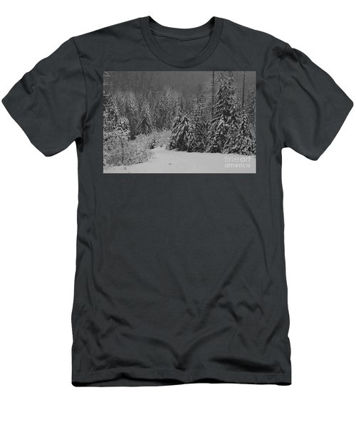 Men's T-Shirt (Slim Fit) featuring the photograph Winter Fairy Tale by Yulia Kazansky