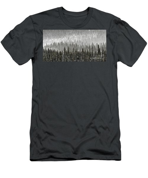 Winter Forest Men's T-Shirt (Athletic Fit)