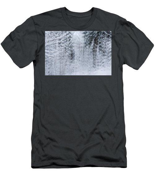 Winter Glow- Men's T-Shirt (Athletic Fit)