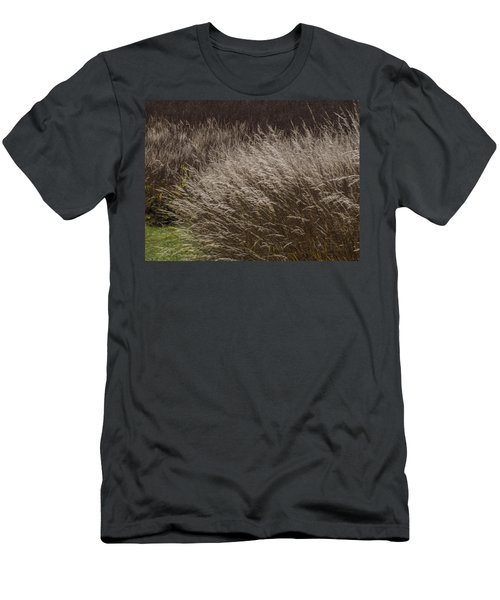 Winter Grass Men's T-Shirt (Athletic Fit)
