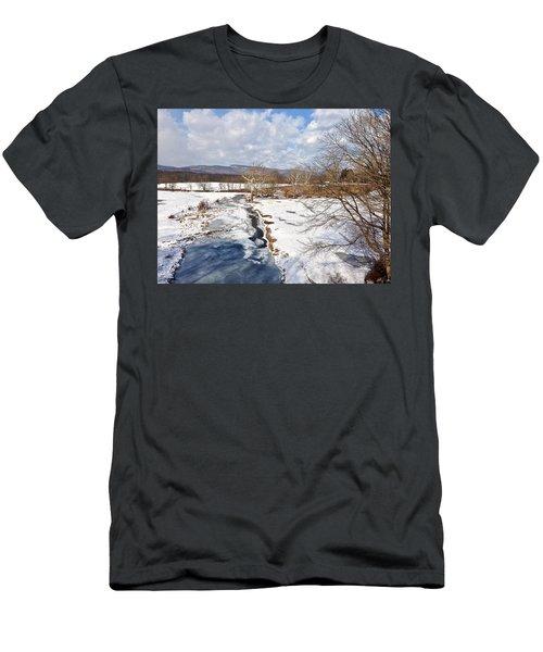Winter Hike Men's T-Shirt (Athletic Fit)