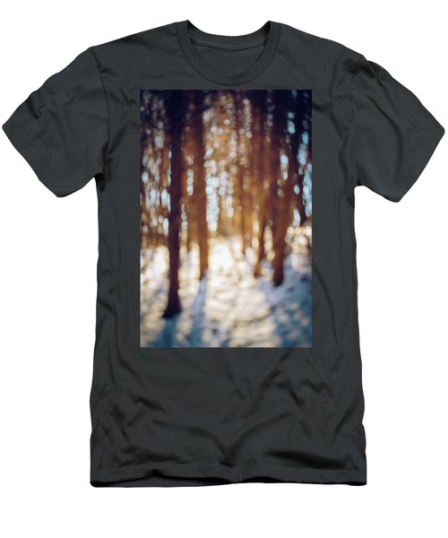 Winter In Snow Men's T-Shirt (Athletic Fit)