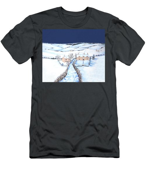 Winter In The Cotswolds Men's T-Shirt (Athletic Fit)