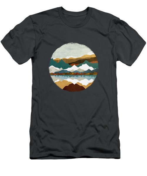 Winter Lake Men's T-Shirt (Athletic Fit)