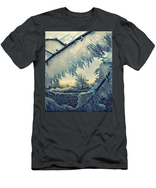 Winter Magic Men's T-Shirt (Slim Fit) by Colette V Hera Guggenheim