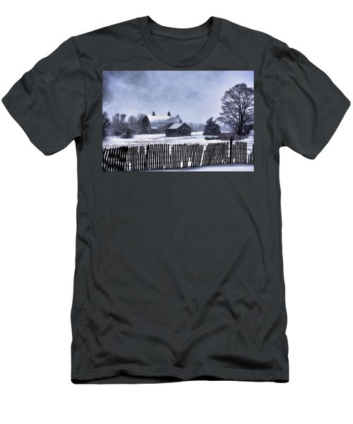 Men's T-Shirt (Slim Fit) featuring the photograph Winter by Mark Fuller