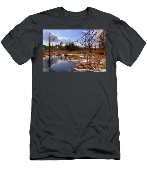 Winter Marsh Men's T-Shirt (Athletic Fit)
