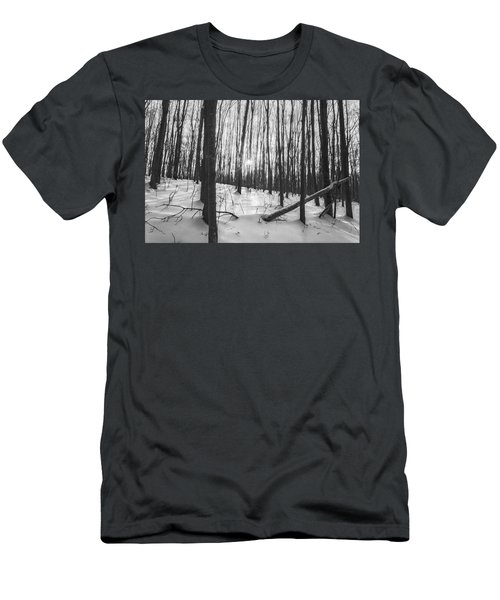 Winter Morning Dream Men's T-Shirt (Athletic Fit)