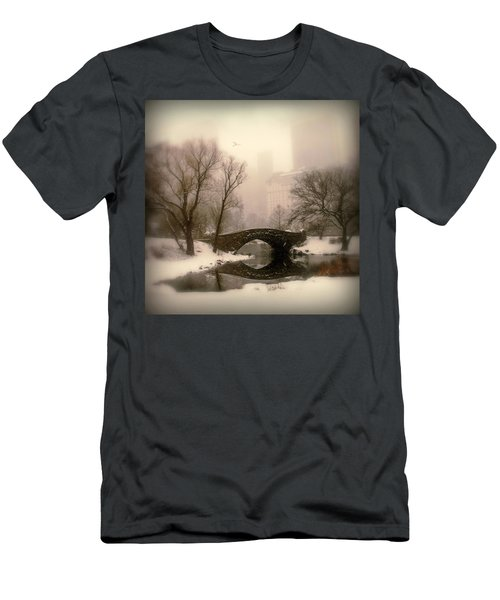 Winter Nostalgia Men's T-Shirt (Athletic Fit)