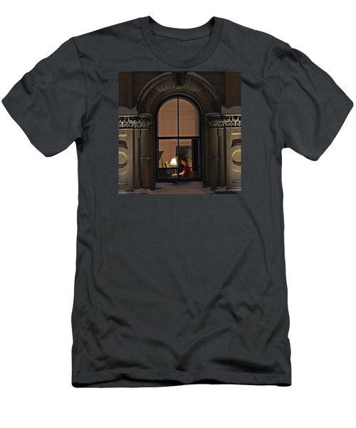 Winter Rehearsal Men's T-Shirt (Slim Fit) by Stephen Flint