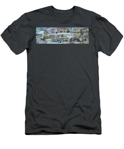Winter Repose - Sold Men's T-Shirt (Athletic Fit)