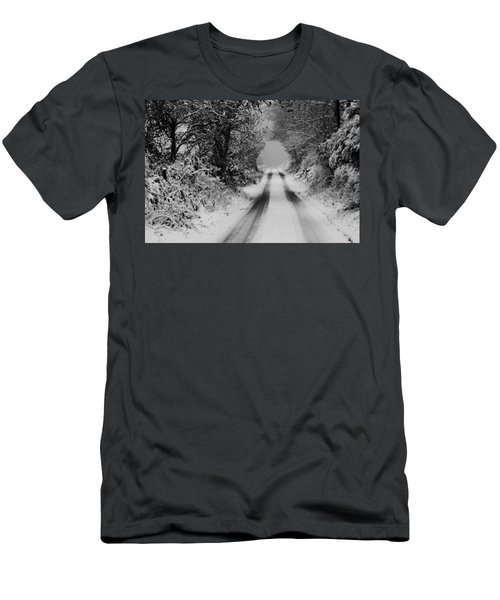 Winter Road Men's T-Shirt (Athletic Fit)