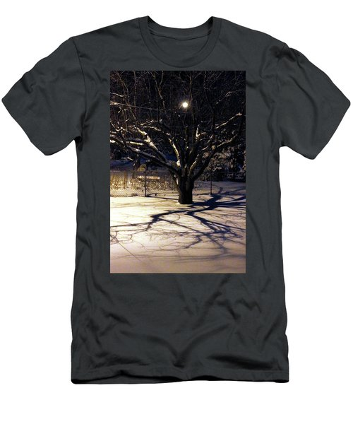 Winter Romace Men's T-Shirt (Slim Fit) by Samantha Thome