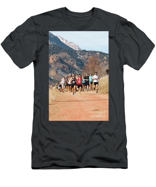 Winter Series II Peakrunners Men's T-Shirt (Athletic Fit)