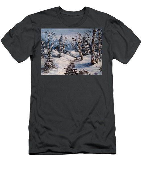 Winter Silence Men's T-Shirt (Athletic Fit)