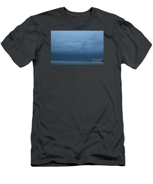 Men's T-Shirt (Slim Fit) featuring the photograph Winter Sky by Jeanette French