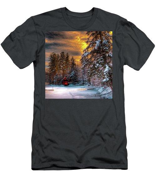 Winter Sun Men's T-Shirt (Athletic Fit)