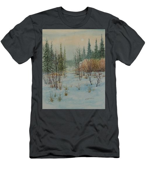 Winter Trail Alberta Men's T-Shirt (Athletic Fit)