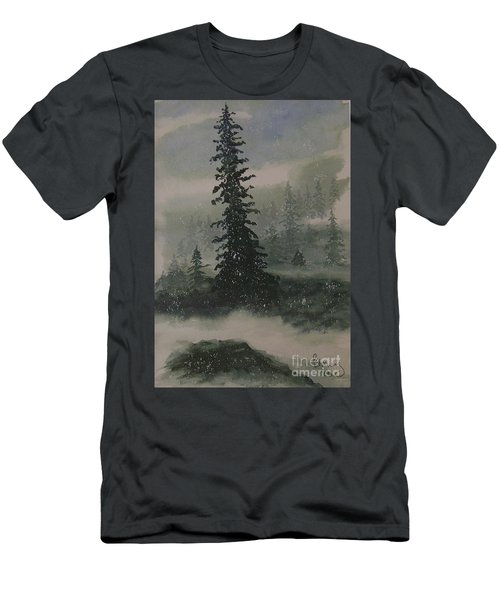 Winter Up North Men's T-Shirt (Athletic Fit)