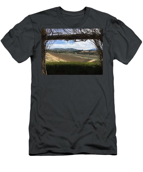 Winter Vines Men's T-Shirt (Athletic Fit)