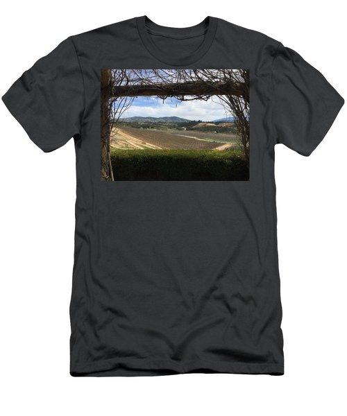 Winter Vines Men's T-Shirt (Athletic Fit)