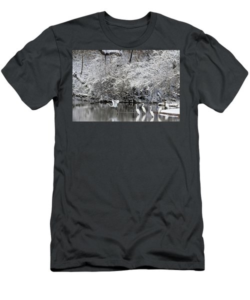 Winter Wonderland Men's T-Shirt (Athletic Fit)